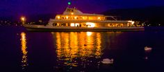 Boat & swans | photo Leda Nishino