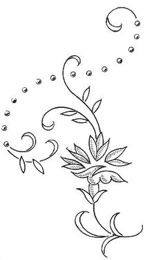 When Witches Fly Embroidery Pattern by Meg Hawkey From Crabapple Hill Studio - Embroidery Design Guide Hand Embroidery Dress, Floral Embroidery Patterns, Flower Patterns, Cross Stitch Embroidery, Quilt Patterns, Embroidery Designs, Sgraffito, Embroidery Transfers, Printable Designs