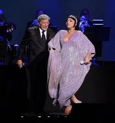 Tony Bennett and Lady Gaga Make Debut Performance at The Cosmopolitan of Las Vegas on Dec 30, 2014 (Photo credit: Bryan Steffy / WireImage / www.BryanSteffyPhoto.com).