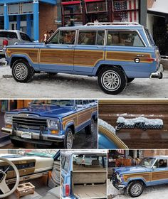 Orvis is proud to offer a fully restored 1991 Jeep 'Woody' Grand Wagoneer in spinnaker blue, with accommodations for six and generous cargo space. Jeep Wagoneer, Old Jeep, Jeep Jeep, American Legend, Vintage Classics, Indie Movies, Vintage Trailers, Jeep Grand, Classic Cars