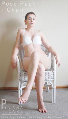 [ Basic Pose ] Chair - Pose 7 by pyjama-cake