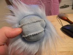 fabric wig tutorial