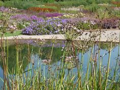 Hauser and Wirth Garden in Somerset