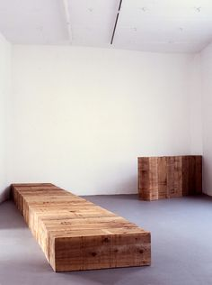 CARL ANDRE http://www.widewalls.ch/artist/carl-andre/ #minimal #art #sculpture