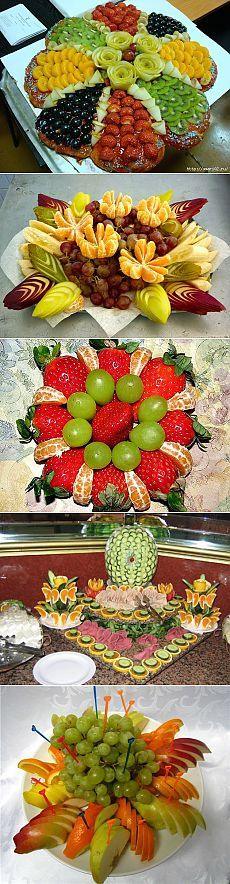 Fruits for New Year's table