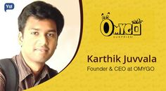 Interview with Karthik Juvvala, CEO at OMYGO - An entrepreneur who built an innovative tool to surprise someone anonymously on any occasion in an easy manner.