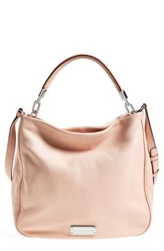 This pale coral tote is going to be perfect for spring!