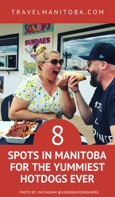 Hot diggity dog: 8 spots in Manitoba for the BEST hotdogs ever 🌭 Road Trip Food, Road Trips, Summer Travel, Summer Bucket, Lake Winnipeg, Canada Summer, Canadian Travel, Western Canada, Visit Canada