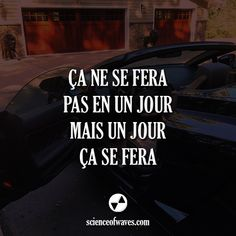 ça ne se fera pas en un jour - Best Pins Live Positive Mind, Positive Attitude, Positive Quotes, Inspiration Entrepreneur, French Quotes, Positive Affirmations, Marketing Digital, Beautiful Words, Words Quotes