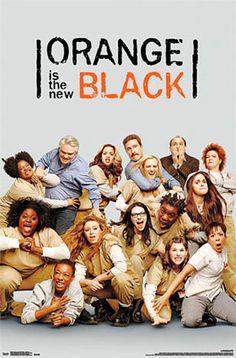 Póster Orange Is the New Black, grupo Póster con la imagen de los personajes principales de la serie de tv Orange is the New Black.