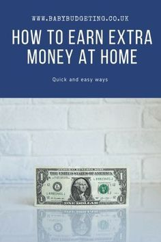 5 Effortless Ways to Make Extra Money at Home Boost your income with home-based work Ways To Save Money, Money Tips, Money Saving Tips, How To Make Money, Make Money From Home, Make Money Online, Home Based Work, Finance Blog, Parenting Advice