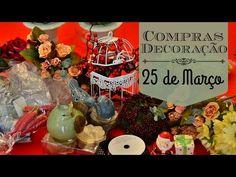 25 de março   Comprinhas de decoração - YouTube