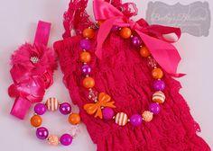 Fuchsia & Orange Gift Set