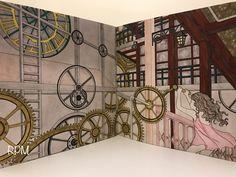 The Time Garden Coloring Book Daria Song #TheTimeGarden #dariasong Fairy Inside the Clock