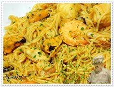 Massa Chinesa com Mariscada – Recipes by Apok@lypsus