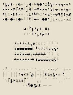 Qalto - Experimental Typeface Design by Áron Jancsó