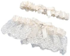 Darice VL58631, Lace Heart Accent Adjust Garter with Toss Away, Cream >>> Check out this great product.