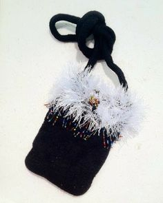 Hand-knit & Felted Purse - Sue Winegar | Touchstone Gallery