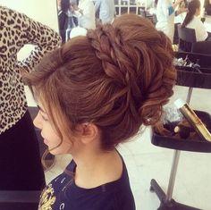 hair styles for long hair updo
