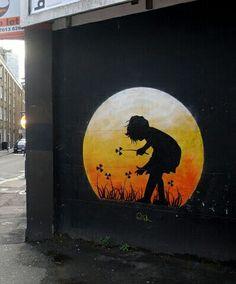 Otto Schade Street Wall Art, Street Mural, Street Art Graffiti, Installation Street Art, Graffiti Piece, Melbourne Art, Soul Art, People Art, Mural Art