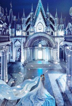 This fairy-tale inspired prewedding portrait deserves to be framed! Fairytale Fashion, Fairytale Dress, Fantasy Photography, Girl Photography, Fantasy Dress, Stylish Girl Pic, Pre Wedding Photoshoot, Nice Dresses, Fairy Tales