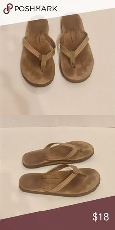 Rainbow Flip flops Women's Rainbow flip flops, size small (5.5-6.5 on rainbow website), thin strap, worn/broken in Rainbow Shoes Sandals