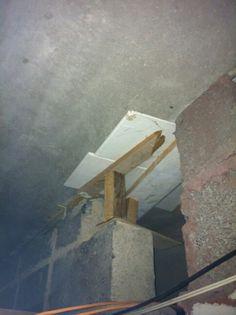 Asbestos packing panels