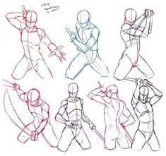 Anatomy Drawing Tutorial Start Using These Suggestions To Assure A Fantastic Experience Drawing Body Poses, Body Reference Drawing, Drawing Reference Poses, Sword Reference, Action Pose Reference, Hand Reference, Gesture Drawing, Anatomy Reference, Drawing Sketches
