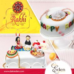 This Is A bond Of Love..A Bond Of Toghetherness... It's A Thread That Binds...Our Lives And Our Hearts... Happy Rakshabandhan... #EdenCakes #Love