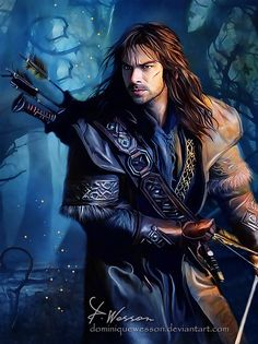 Kili by DominiqueWesson on deviantART (this is actually very good display of skill on the artists part!)