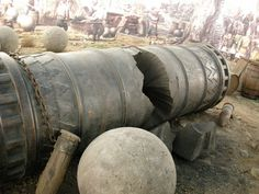 1453 The Bronze Great Turkish Bombard Used By The Ottoman Empire
