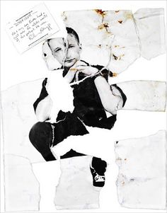 """Billy Bragg - Rankin """"Destroy"""" Project Rankin Photography, Distortion Photography, Mixed Media Photography, Creative Photography, Art Photography, Fashion Photography, Penguin Research, Book Design, 2d Design"""