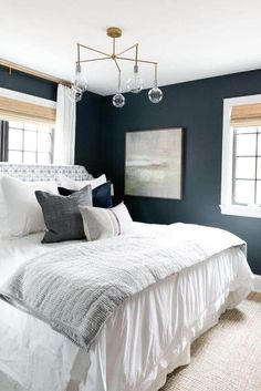 These bedroom wall paint designs may just be exactly what you need to redo your bedroom the best way possible. For more like this go to glamshelf.com