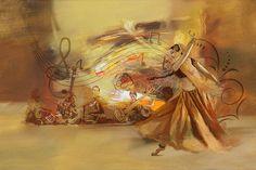 Kathak Dancer 4 Painting