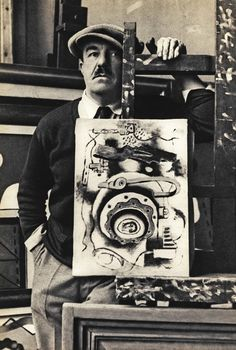 """A young Fernand Léger at his easel. """"Man needs colour to live; it's just as necessary an element as fire and water."""""""