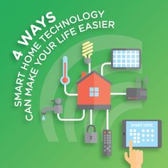 Smart technology isn't just for cellphones anymore, it's for your home and it could make your life a lot easier!