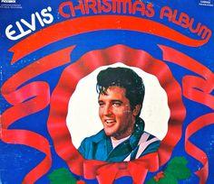Vintage Elvis Christmas Vinyl Record Album 1970 by cynthiasattic, $25.00