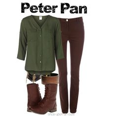 """Peter Pan (OUAT)"" by wishingadream on Polyvore"