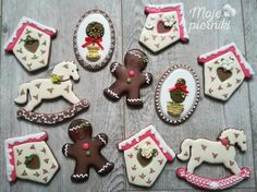 Christmas gingerbreads by E Kiszowara MOJE PIERNIKI