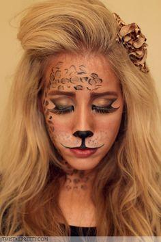 Leopard Makeup Tutorial | Babble