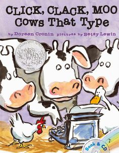 Speech is Sweet: Click, Clack, Moo: Cows That Type