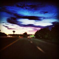 In autostrada senza meta....