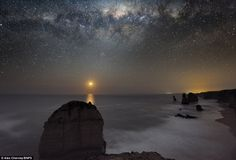 """""""Dawn of Creation"""" Alex Cherney spent 18 months photographing the night sky on the southern tip of Australia."""