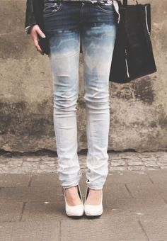 Ombre jeans