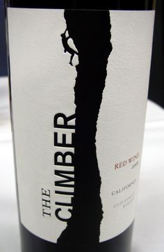 The Climber. Learn how to read wine labels at http://hangingwinerackonline.com/wine-bottle-labels/