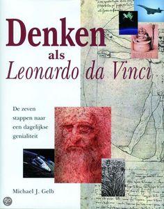 5* Denken als Leonardo da Vinci van Michael J. Gelb is een boek wat ik iedereen wil aanraden, die nieuwsgierig is geworden naar de genialiteit van Leonardo da Vinci. Bijna iedereen heeft een onbeperkt potentieel tot leren en creatief zijn. Klik voor mijn recensie even door naar Goodreads!