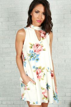 Love You For Always Shift Dress in Ivory