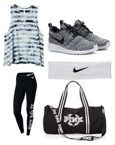 """Untitled #187"" by brianna-2411 on Polyvore featuring RVCA and NIKE"
