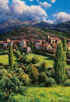 Ansó - Aragón, Spain Que hermoso!!