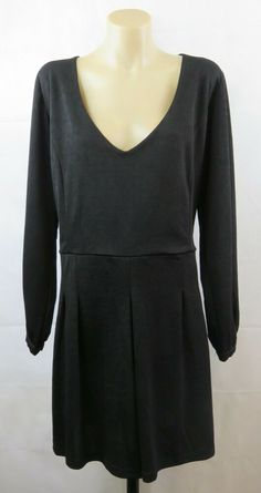 premium selection fa646 7d495 Size XL 16 Marco Polo Ladies Black Skivvy Top Work Gothic ...